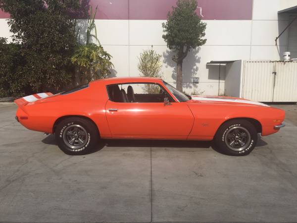 Classic muscle car 1971 camaro buy american muscle car for Classic american muscle cars for sale