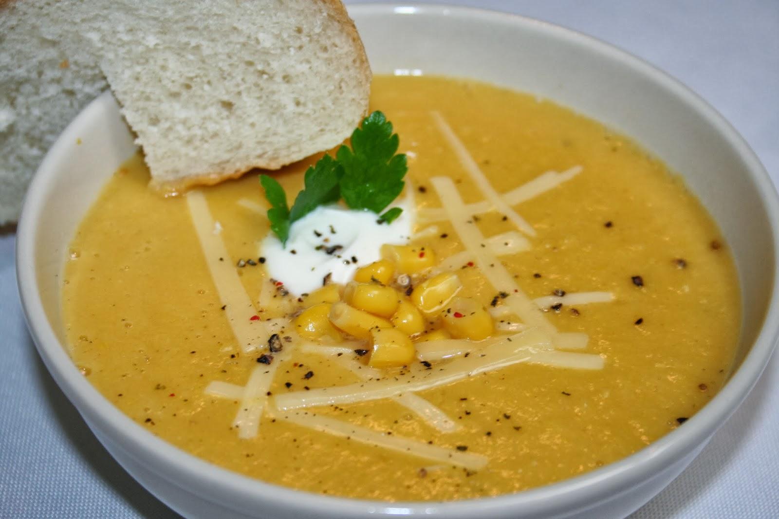 Southwestern Corn Soup