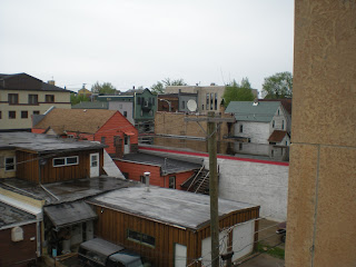 From the roof of the Ely Community Center, pic by John Huisman