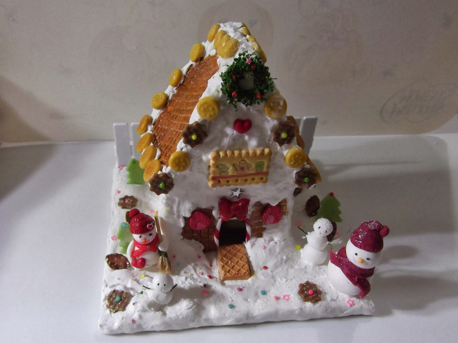 Miniature Ginger Bread House
