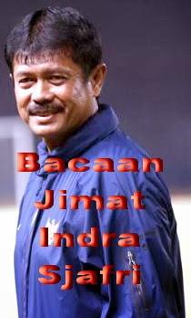 BACAAN DOA JIMAT INDRA SJAFRI PELATIH TIMNAS INDONESIA U19