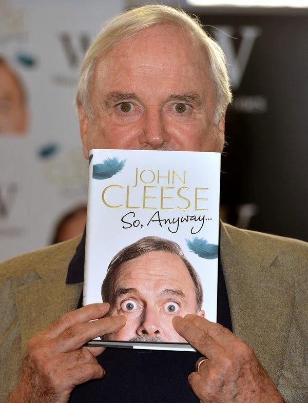 john cleese so anyway