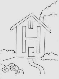 printable alphabet coloring pages House
