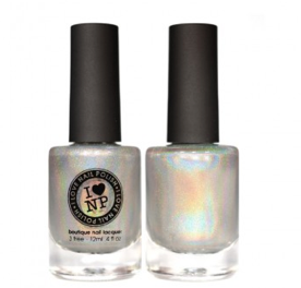 First Look Fridays, Krystal Emery, Polish Galore, beauty blog, beauty blogger, interview series, I Love Nail Polish Mega holographic nail polish, nail lacquer, nail varnish, nails, manicure