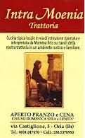 """Intra Moenia Trattoria - Piazza Manfredi  """"cuore della movida oritana"""""""