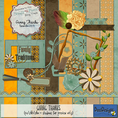 Scraps-N-Pieces November Blogtrain