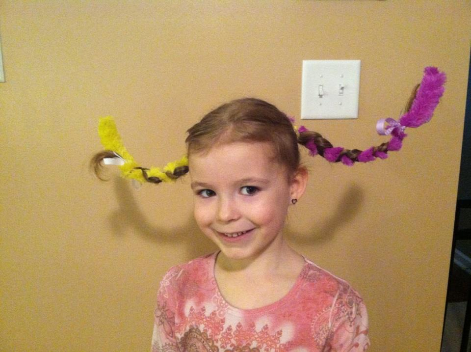 Crazy hair day  sc 1 st  Imperfectly Homemade Mom by Monica & Imperfectly Homemade Mom by Monica: Crazy hair day