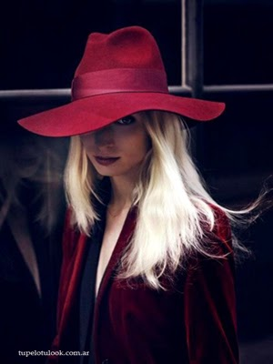 pelo 2014 rubios sombreros