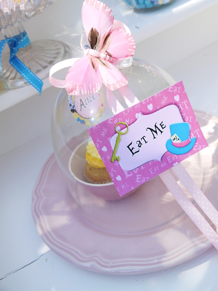 "Alice in Wonderland Inspired ""Un-Birthday"" Tea Party food"