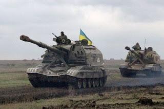 Önjáró lövegek Ukrajnában