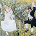Kahwin atas wayar besi