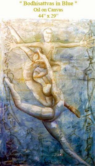 Bodhisattvas en Azul