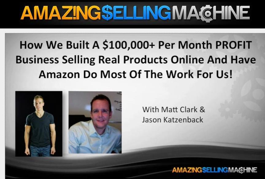 amazing selling machine cost