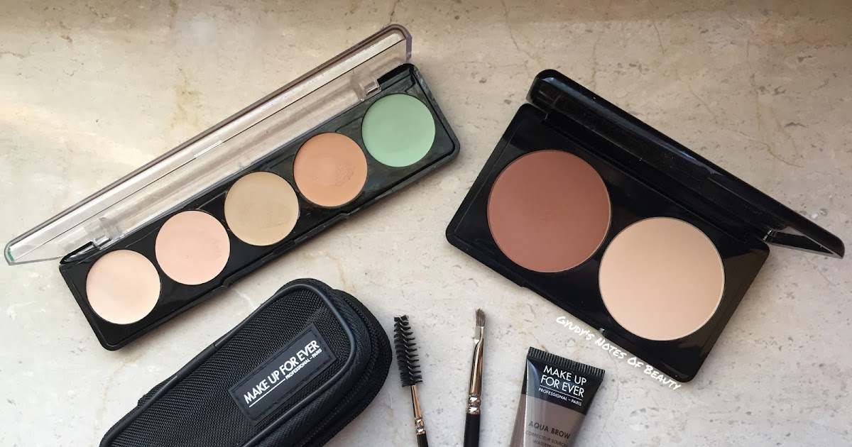 Gyudys Notes Of Beauty The Mufe Pros 5 Camouflage Cream Palette
