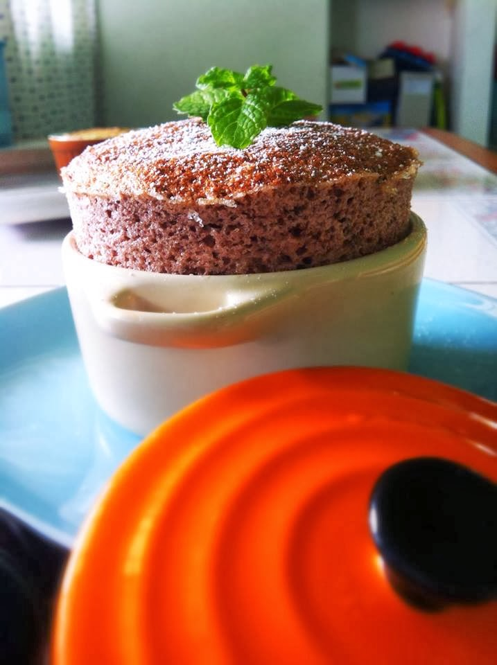 Culinary Kitchenette: Chocolate Banana Souffle by Ronnie Chan (aka ...