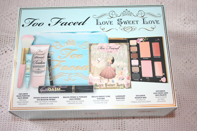 too faced love sweet love holiday set