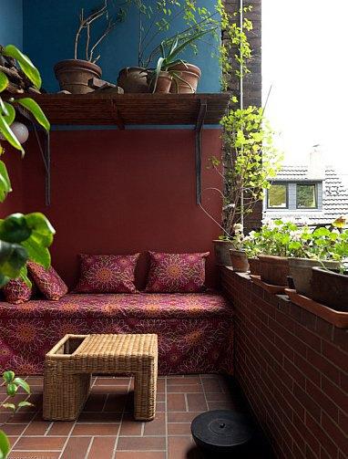 My littel balcony architettura e design a roma for Terrazzi zen