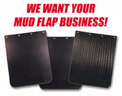 mud flaps, shield or guard
