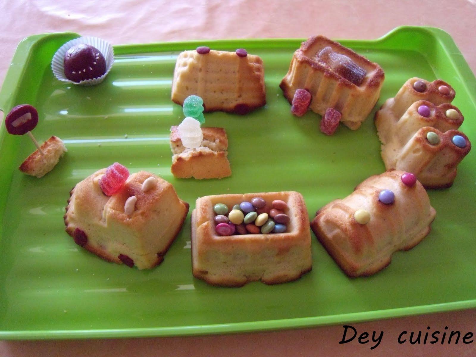 Super Dey cuisine: Gâteau train SU29