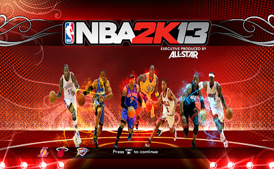 NBA 2K13 2013 All-Stars Cover Screen Mod