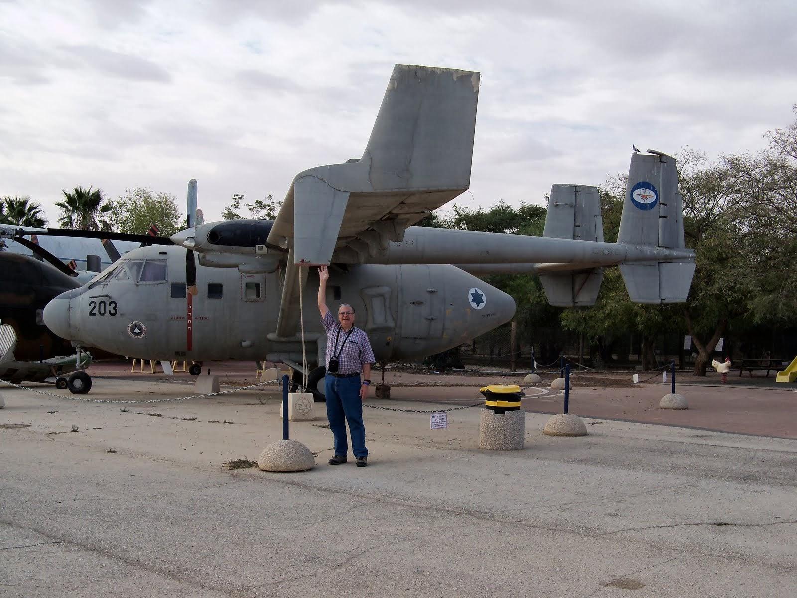 Con el Arava 201 (Israel)
