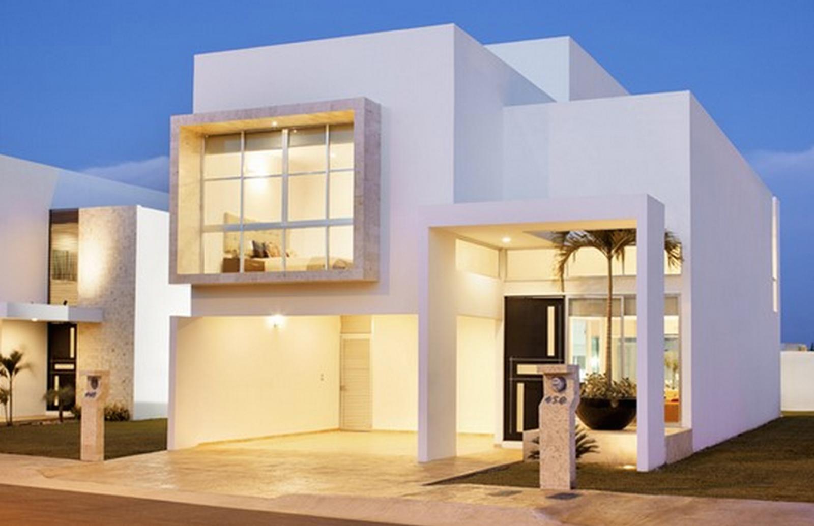 Casas prefabricadas y modulares casas minimalistas for Fachadas de viviendas de una planta