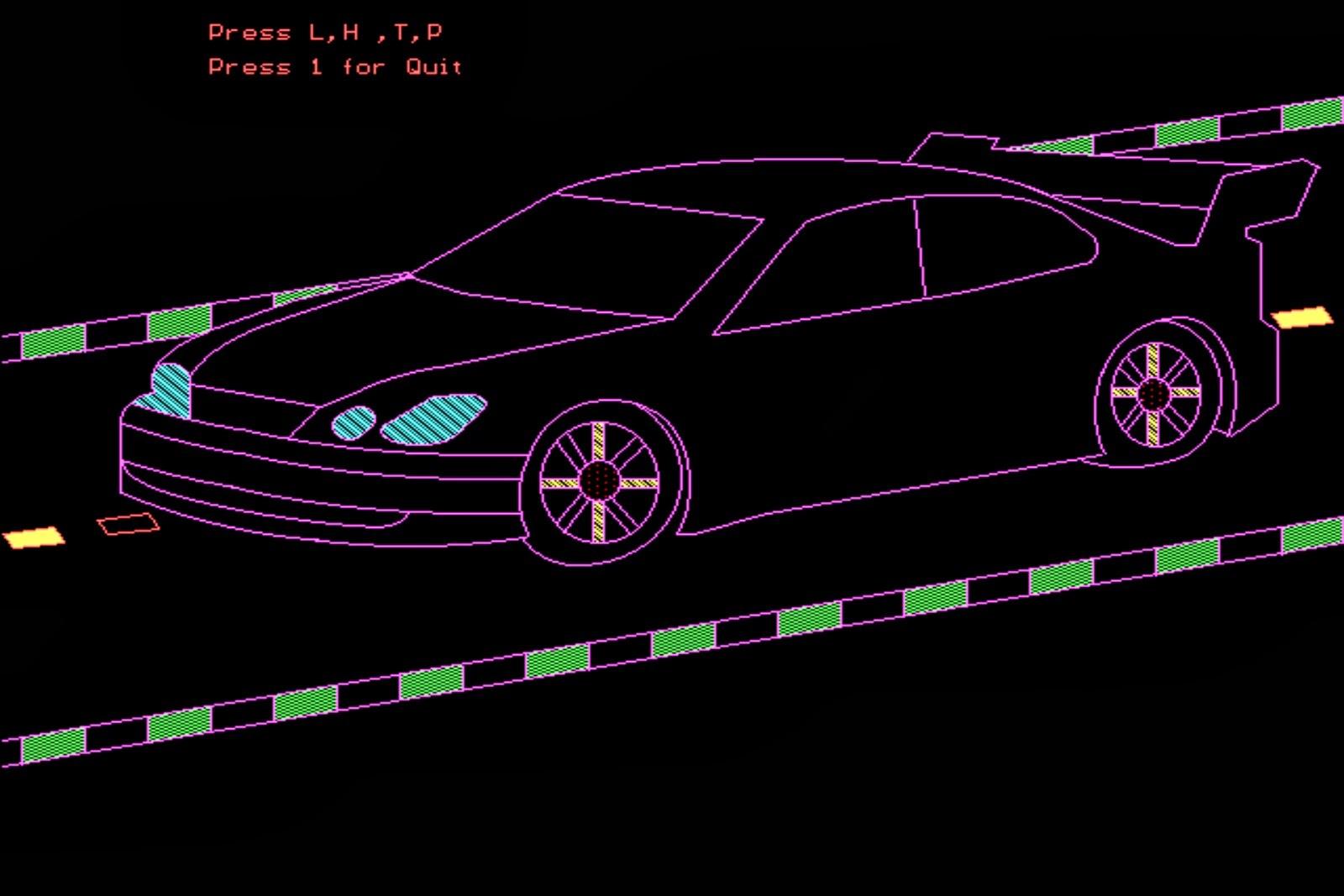 Animated 3D Car