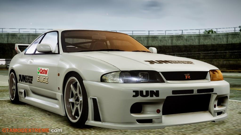 Baixar carro Nissan Skyline R33 1995 Para GTA IV