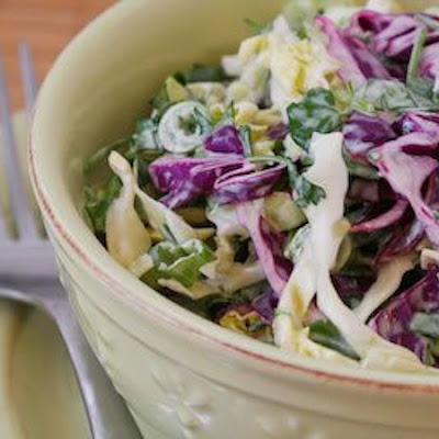 Spicy Mexican Slaw Recipe with Lime and Cilantro (Low-Carb, Gluten ...