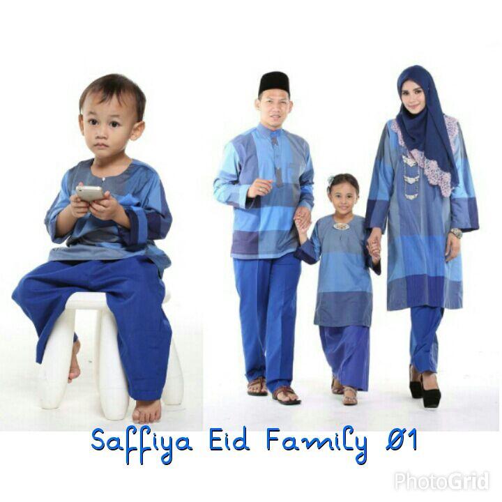 Safiyya Eid Family Baju Sedondon