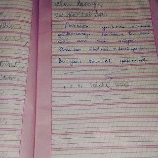 İlk okulda zorunlu hale getirilen el yazısı ve sorunları