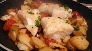 One Pot Cod with Chorizo Potatoes and Paprika Aioli Recipe