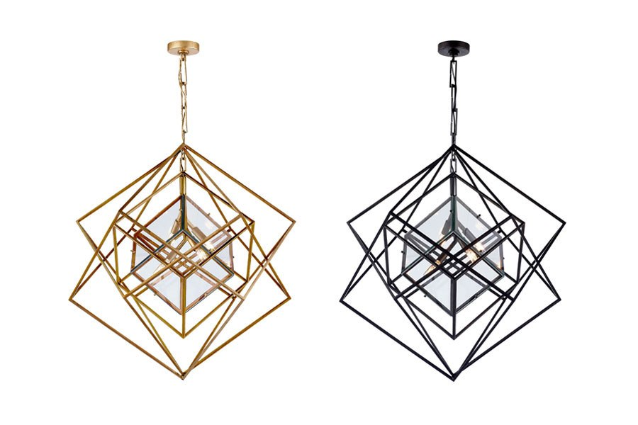 Fiorito interior design kelly wearstler for visual comfort cubist chandeliers aloadofball Choice Image