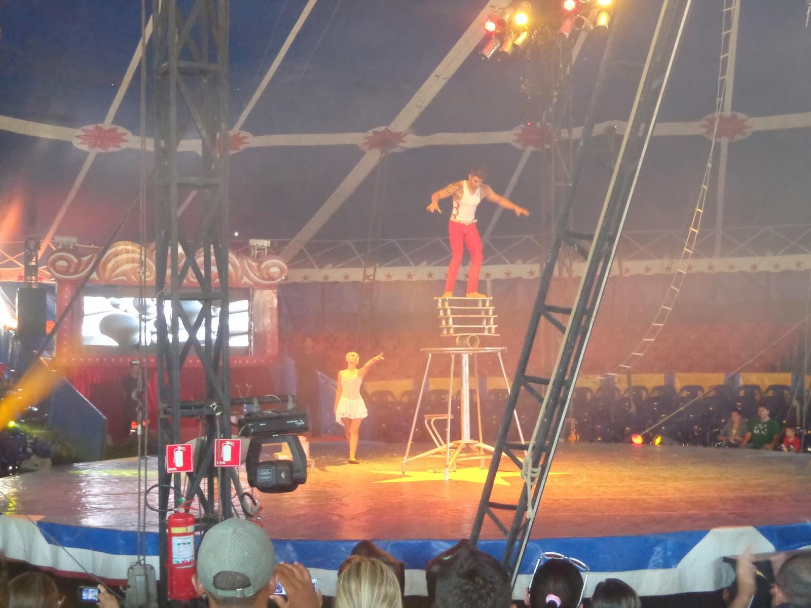 Espetáculo do Marcos Frota Circo Show.