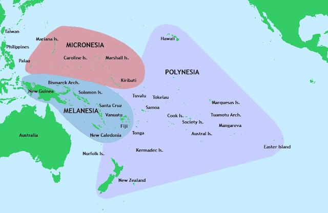 1100 Αρχαίες Ελληνικές Λέξεις στις Γλώσσες των Νησιών του Ειρηνικού