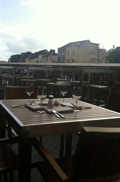 Stitch and Bear - The terrace at Electric, Cork