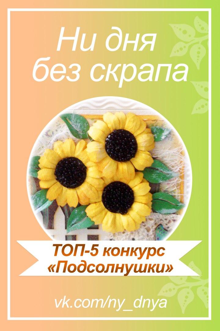 """ТОП-5 """"Подсолнушки"""""""