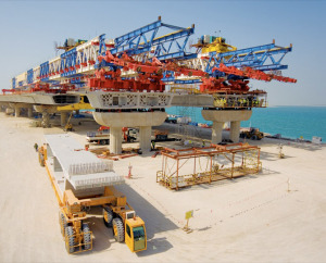 Construction of palm jumeirah