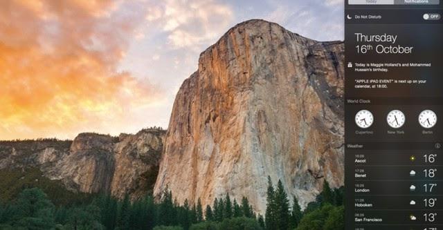 Apple OS X Yosemite chính thức có mặt cho người dùng tải về