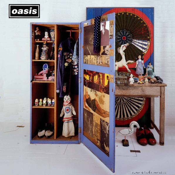 ART & ARTISTS: Peter Blake - album covers Oasis Band 1995