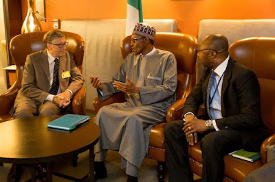 Buhari and Bill Gates