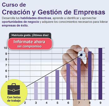 Creación y Gestión de Empresas de Deusto Formación