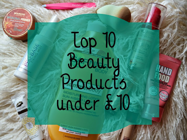 10 Under £10: Beauty Product
