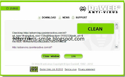 Dr Web Anti-Virus Link Checker