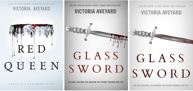 The Blogger's Bookshop : Cover Design # 3: Glass Sword by Victoria ...