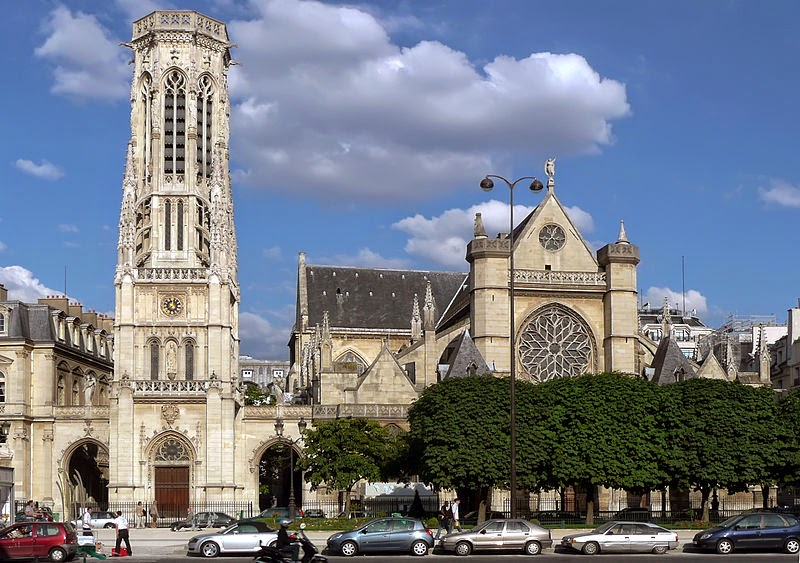 St-Germain-l'Auxerrois in Paris
