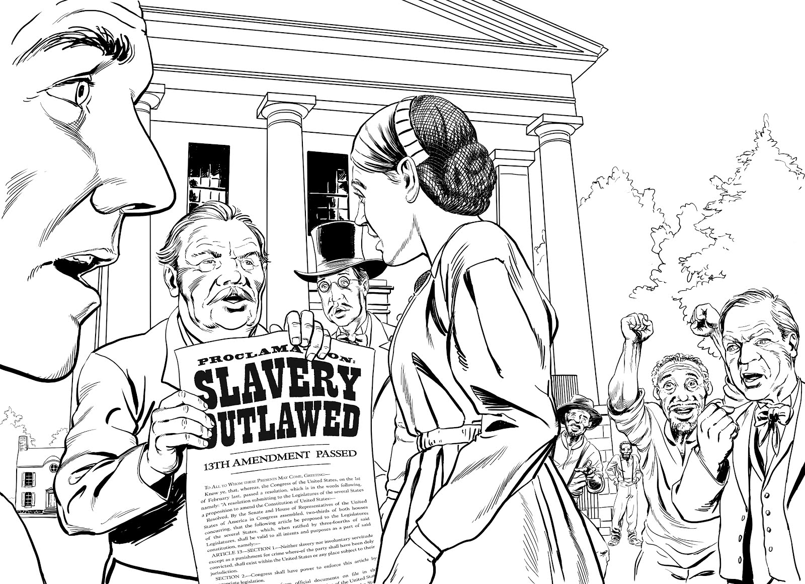 slavery coloring pages printable - photo#33