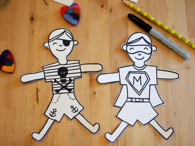 doodle your crayon hugger crards