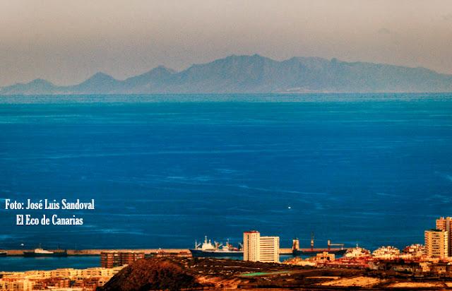 fotos Fuerteventura vista desde Gran Canaria