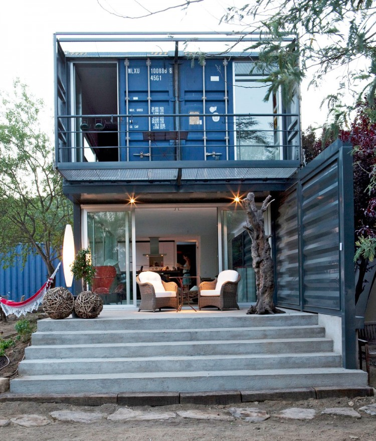 shipping container homes april 2012. Black Bedroom Furniture Sets. Home Design Ideas